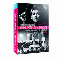 Leonard Bernstein - Young People's Concerts with the New York Philharmonic Vol.1, 7 DVDs