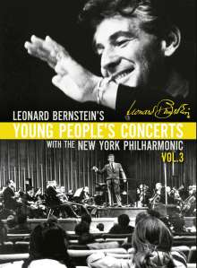 Leonard Bernstein - Young People's Concerts with the New York Philharmonic Vol.3, 7 DVDs