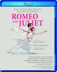 The Stuttgart Ballet - John Cranko's Romeo and Juliet, Blu-ray Disc