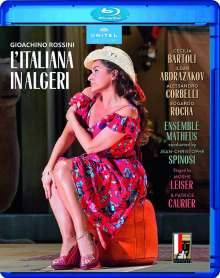 Gioacchino Rossini (1792-1868): L'Italiana in Algeri, Blu-ray Disc