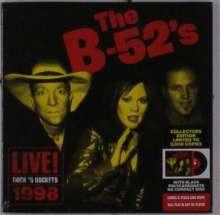 The B-52s: Live! Rock 'n Rockets 1998, CD