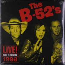 The B-52s: Live! Rock 'n Rockets 1998 (remastered) (180g) (Limited-Edition), LP