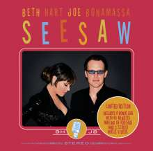 Beth Hart & Joe Bonamassa: Seesaw (Limited Edition), 1 CD und 1 DVD