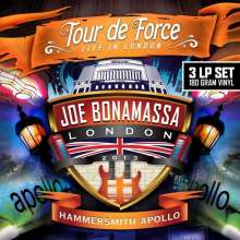 Joe Bonamassa: Tour De Force: Live In London, Hammersmith Apollo 2013 (180g), 3 LPs