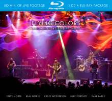 Flying Colors: Second Flight: Live At The Z7, 3 CDs