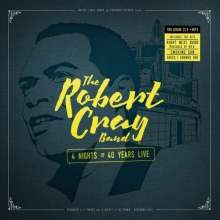 Robert Cray: 4 Nights Of 40 Years Live (180g), 2 LPs
