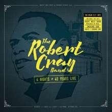 Robert Cray: 4 Nights Of 40 Years Live, 2 CDs und 1 DVD