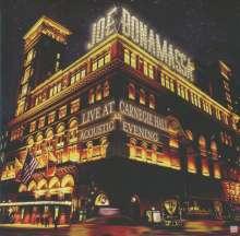 Joe Bonamassa: Live At Carnegie Hall: An Acoustic Evening, 2 CDs