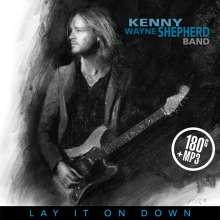 Kenny Wayne Shepherd: Lay It On Down (180g) (Limited Edition) (Blue Vinyl), LP
