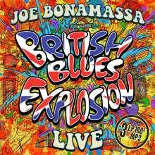 Joe Bonamassa: British Blues Explosion Live (180g), 3 LPs