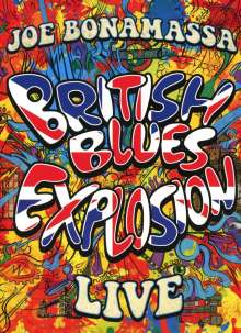 Joe Bonamassa: British Blues Explosion Live, 2 DVDs