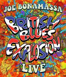 Joe Bonamassa: British Blues Explosion Live, Blu-ray Disc