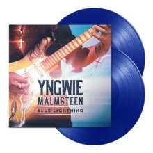 Yngwie Malmsteen: Blue Lightning (180g) (Limited-Edition) (Blue Vinyl), 2 LPs
