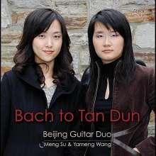 Beijing Guitar Duo - Bach to Tan Dun, CD