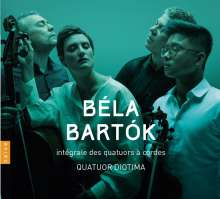 Bela Bartok (1881-1945): Streichquartette Nr.1-6, 3 CDs