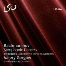 Sergej Rachmaninoff (1873-1943): Symphonische Tänze Nr.1-3, Super Audio CD