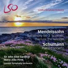 """Felix Mendelssohn Bartholdy (1809-1847): Symphonie Nr.3 """"Schottische"""", 1 Super Audio CD und 1 Blu-ray Audio"""