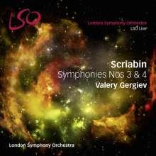 Alexander Scriabin (1872-1915): Symphonie Nr.3, Super Audio CD