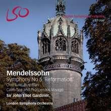 "Felix Mendelssohn Bartholdy (1809-1847): Symphonie Nr.5 ""Reformation"", 1 Super Audio CD und 1 Blu-ray Audio"
