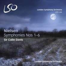 Carl Nielsen (1865-1931): Symphonien Nr.1-6, 4 SACDs