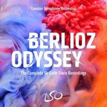 Hector Berlioz (1803-1869): Berlioz Odyssey - The Complete Sir Colin Davis Recordings, 10 CDs und 6 Super Audio CDs