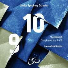 Dmitri Schostakowitsch (1906-1975): Symphonien Nr.9 & 10, Super Audio CD