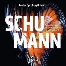 Robert Schumann (1810-1856): Symphonien Nr.1 & 3, Super Audio CD