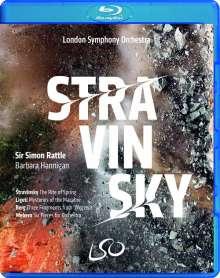 Igor Strawinsky (1882-1971): Le Sacre du Printemps, 1 Blu-ray Disc und 1 DVD