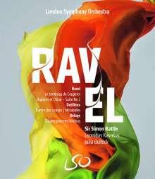 London Symphony Orchestra - Ravel, Dutilleux, Delage, 1 DVD und 1 Blu-ray Disc