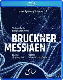 Anton Bruckner (1824-1896): Symphonie Nr.8, 1 Blu-ray Disc und 1 DVD