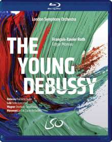 London Symphony Orchestra - The Young Debussy, 1 Blu-ray Disc und 1 DVD