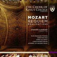 "Wolfgang Amadeus Mozart (1756-1791): Requiem KV 626 - ""Requiem-Realisations"", 1 Super Audio CD und 1 CD"