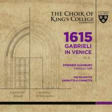 King's College Choir Cambridge - 1615 Gabrieli in Venice, 1 Blu-ray Audio und 1 Super Audio CD