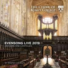 King's College Choir Cambridge - Evensong Live 2019, CD