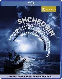 Rodion Schtschedrin (geb. 1932): The Left-Hander, 1 Blu-ray Disc und 1 DVD
