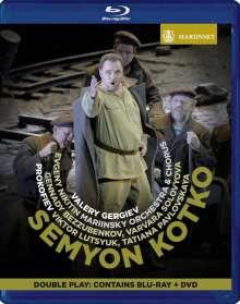 Serge Prokofieff (1891-1953): Semyon Kotko op.81, 1 DVD und 1 Blu-ray Disc