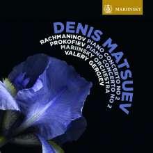 Denis Matsuev spielt Klavierkonzerte von Rachmaninoff & Prokofieff, Super Audio CD