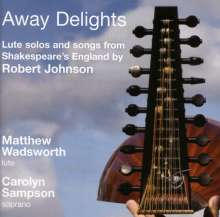 Robert Johnson (c.1582-1633): Lautenwerke, CD