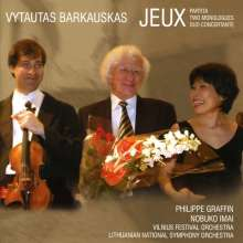 Vytautas Barkauskas (1931-2020): Duo Concertante op.122 für Violine,Viola & Orchester, CD