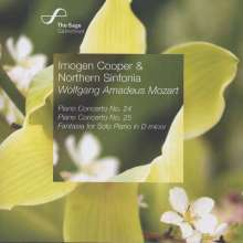 Wolfgang Amadeus Mozart (1756-1791): Klavierkonzerte Nr.24 & 25, CD