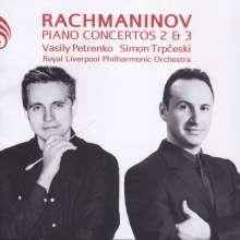 Sergej Rachmaninoff (1873-1943): Klavierkonzerte Nr.2 & 3, CD