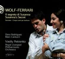 Ermanno Wolf-Ferrari (1876-1948): Il Segreto di Susanna, CD
