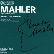 Gustav Mahler (1860-1911): Das Lied von der Erde (Kammermusikfassung), CD