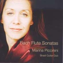 Johann Sebastian Bach (1685-1750): Flötensonaten BWV 1020,1030-1035, CD