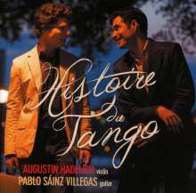 Augustin Hadelich  & Pablo Sainz Villegas - Histoire Du Tango, CD