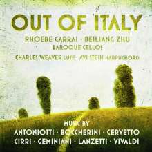 Out of Italy - Italienische Musik für Cello des 18.Jahrhunderts, CD