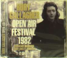 Rory Gallagher: Open Air Festival 1982, 2 CDs
