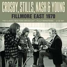 Crosby, Stills, Nash & Young: Fillmore East Radio Broadcast 1970, 2 CDs