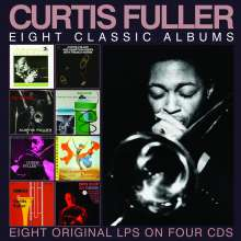Curtis Fuller (1934-2021): Eight Classic Albums, 4 CDs