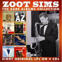 Zoot Sims (1925-1985): The Rare Albums Collection, 4 CDs